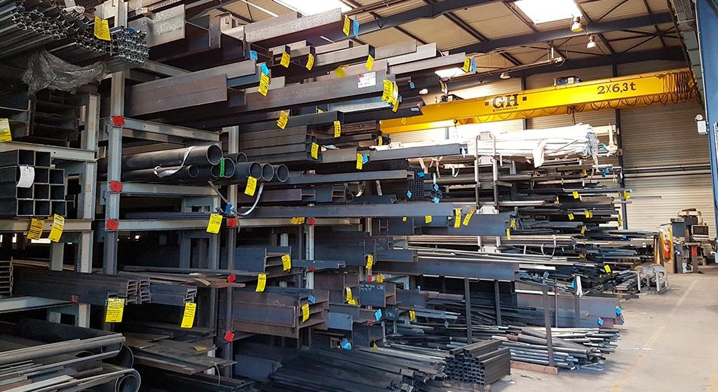 R2C fabrique des produits à base d'acier et d'inox mais peut également travailler l'aluminium