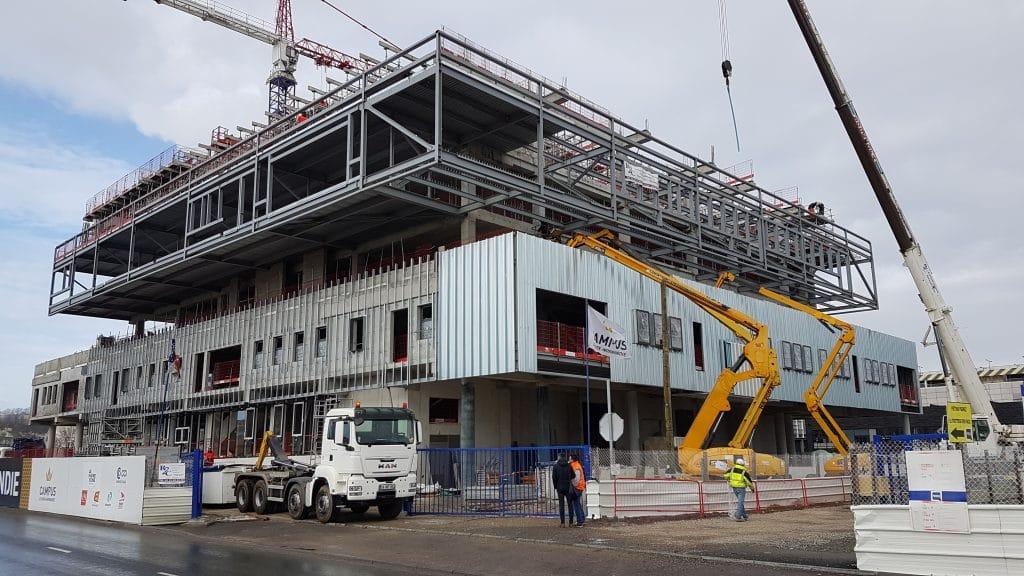 construction Campus EMN du Havre